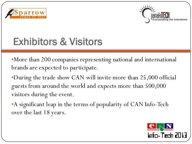 Can infotech exhibition 2013 stopboris Choice Image