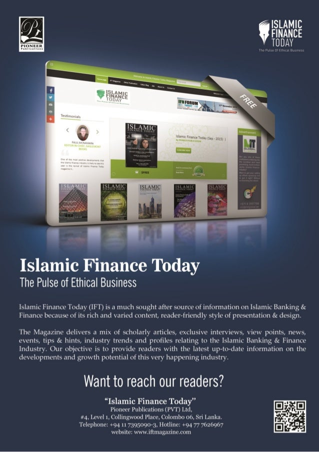islamic financing and its impliaction for I am currently teaching on the msc investment banking and islamic finance (msc   john wiley) to reflect the implications of the grave financial and economic.