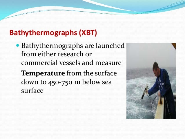 Remote Sensing Techniques for Oceanography Satelitte and In