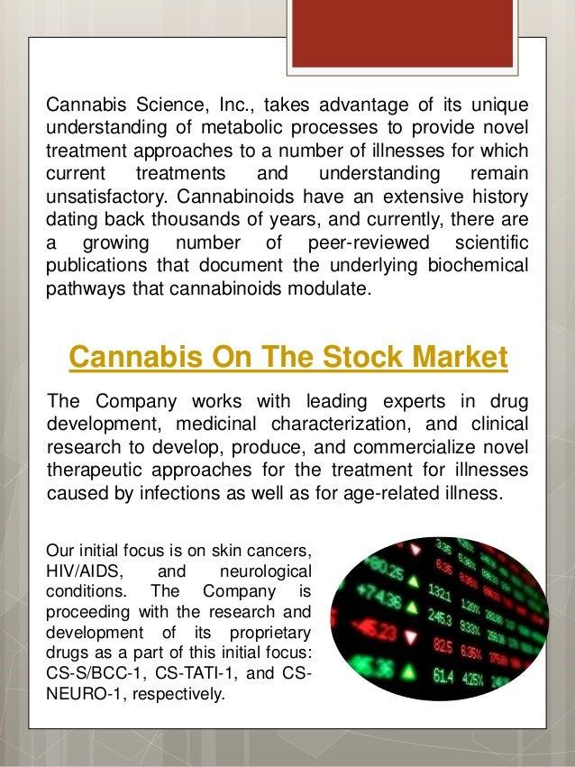 Cannabis science inc fdating