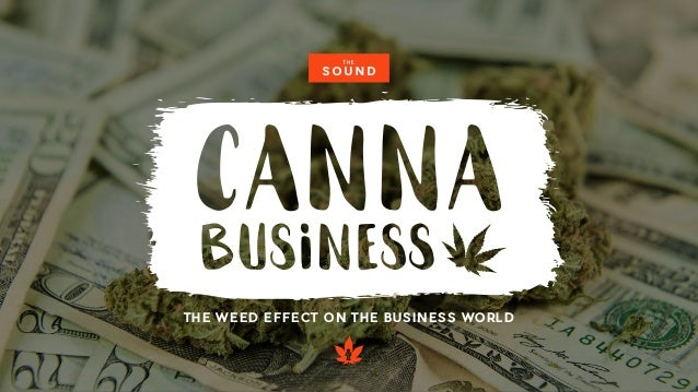 THE WEED EFFECT ON THE BUSINESS WORLD
