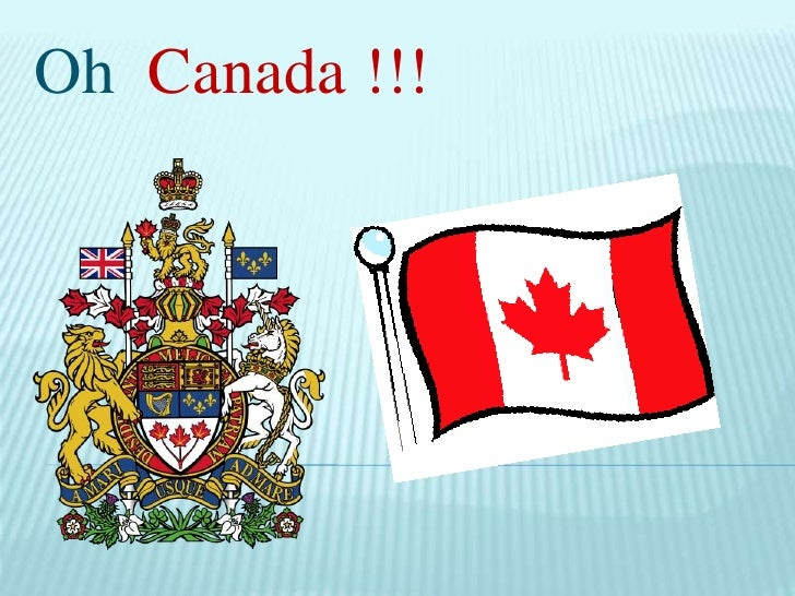 Oh Canada !!!