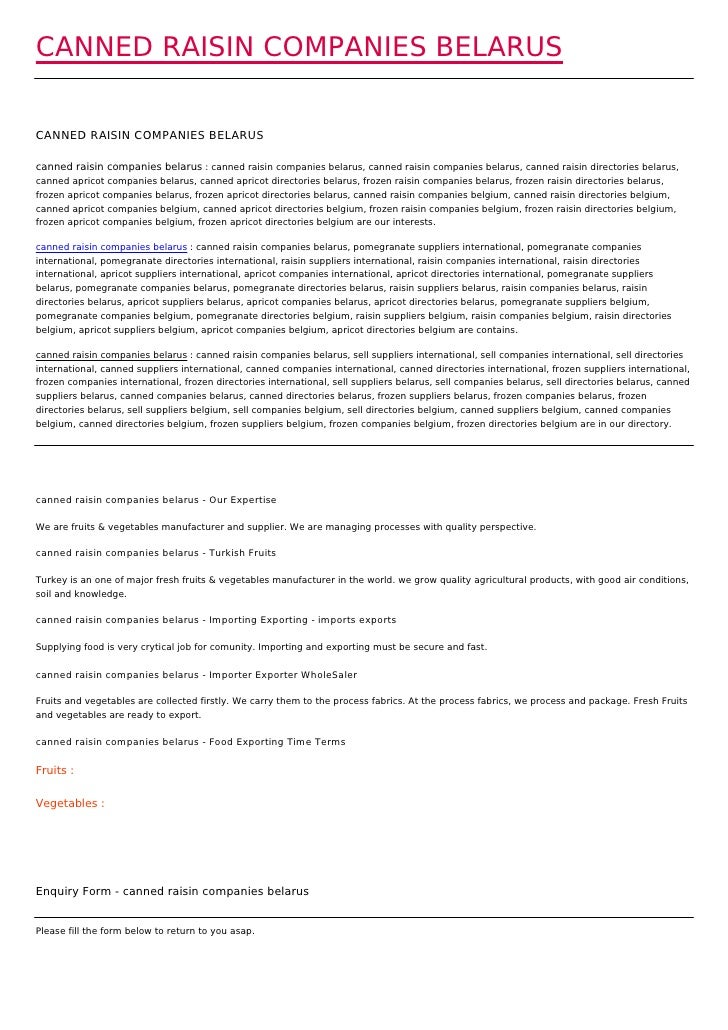 CANNED RAISIN COMPANIES BELARUSCANNED RAISIN COMPANIES BELARUScanned raisin companies belarus : canned raisin companies be...