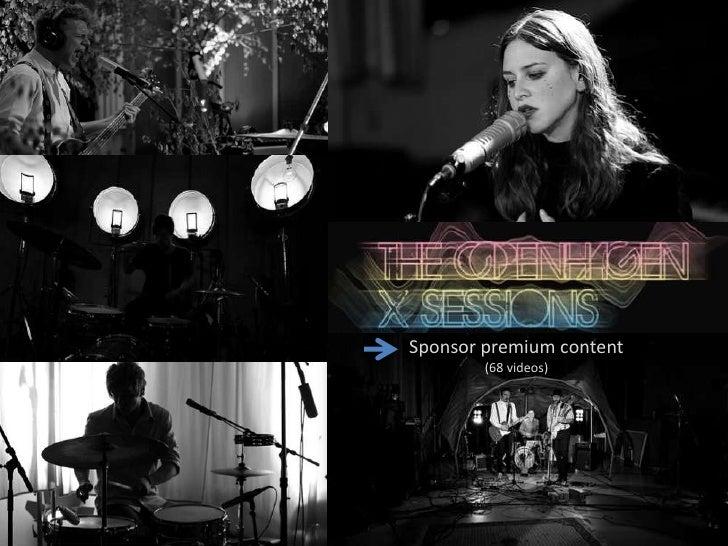 The sponsored model<br />Sponsor premium content – music, sport etc.<br />Sponsor premium content<br />                   ...