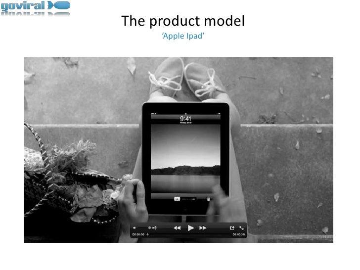 The product model'Apple Ipad'<br />