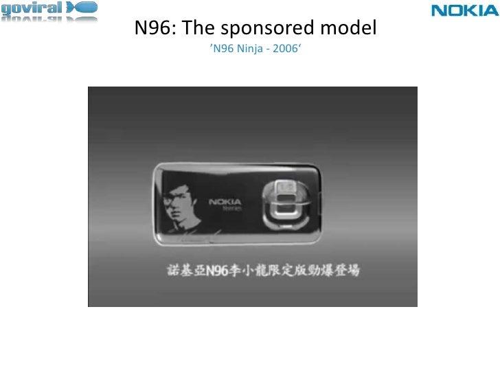N96: The sponsored model'N96 Ninja - 2006'<br />