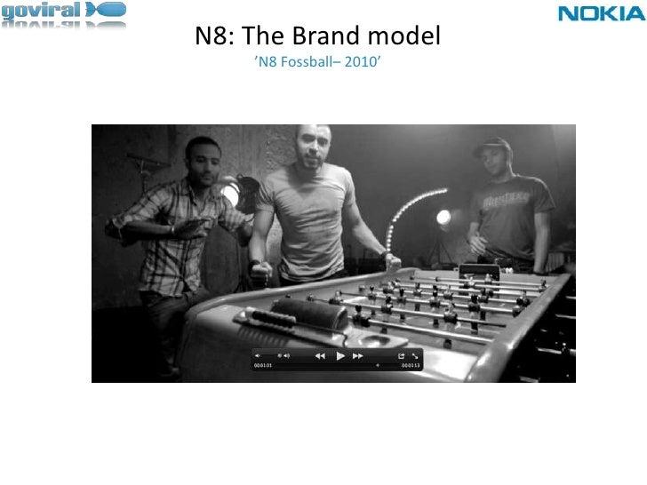 N8: The Brand model'N8 Fossball– 2010' <br />
