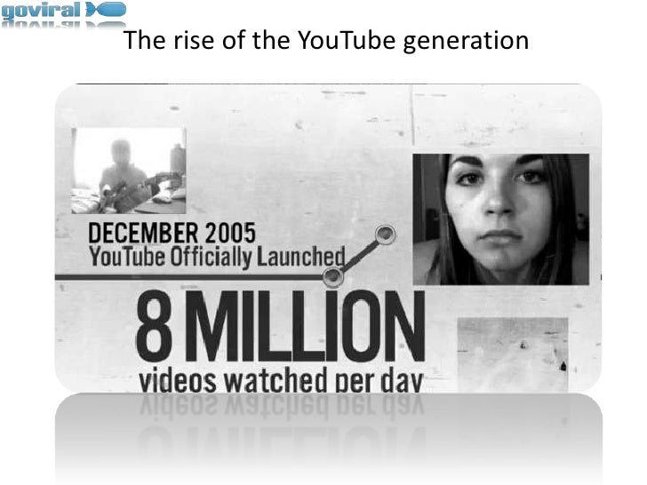 The rise of the YouTube generation<br />