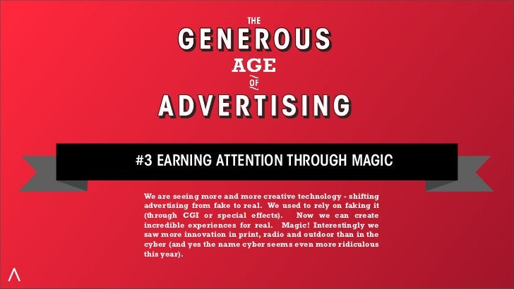#3 EARNING ATTENTION THROUGH MAGIC SOLAR POWERED ANNUAL REPORT There's not much talk about annual reports these days.  Th...