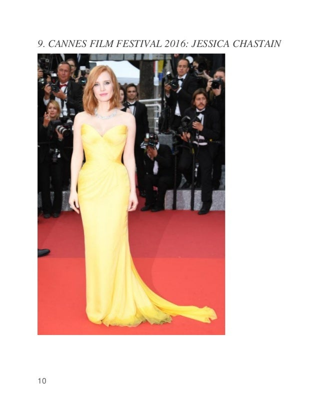 10 9. CANNES FILM FESTIVAL 2016: JESSICA CHASTAIN