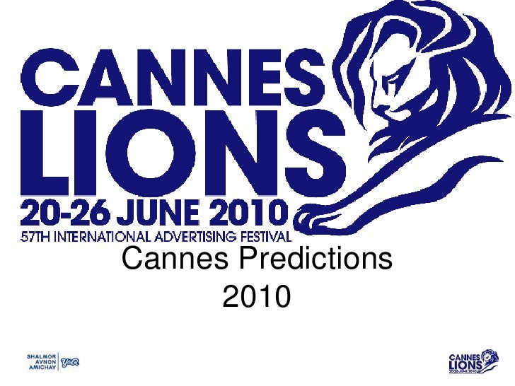 Cannes Predictions2010<br />