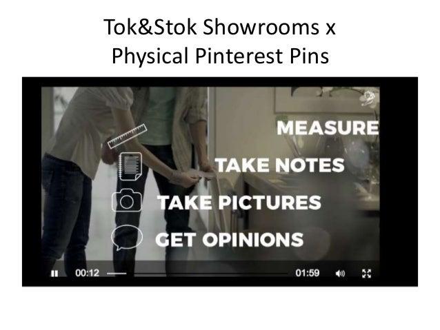 Tok&Stok Showrooms x Physical Pinterest Pins
