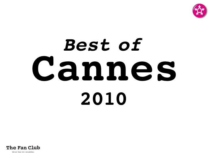 Best of Cannes   2010