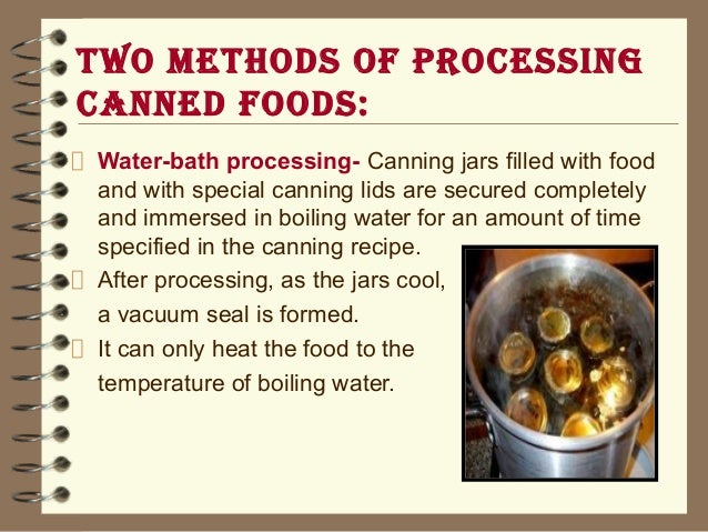 Spoilage Of Canned Foods Ppt