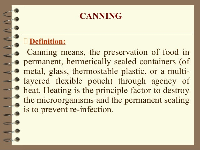 Canning ppt - Meaning of cuisine in english ...