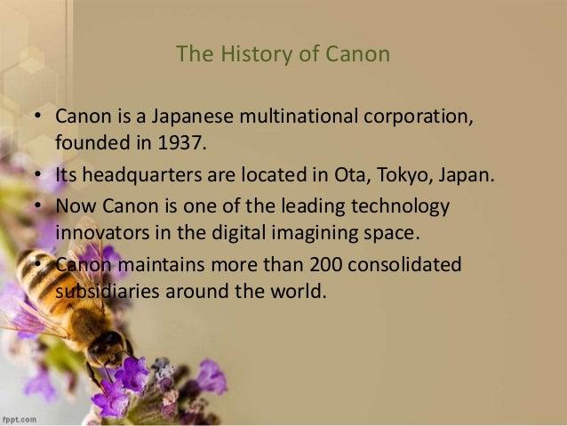 Cannon Branding