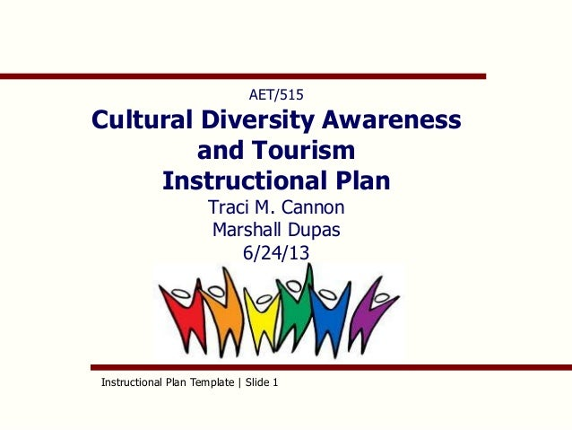 diversity policy template - cannon instructional plan