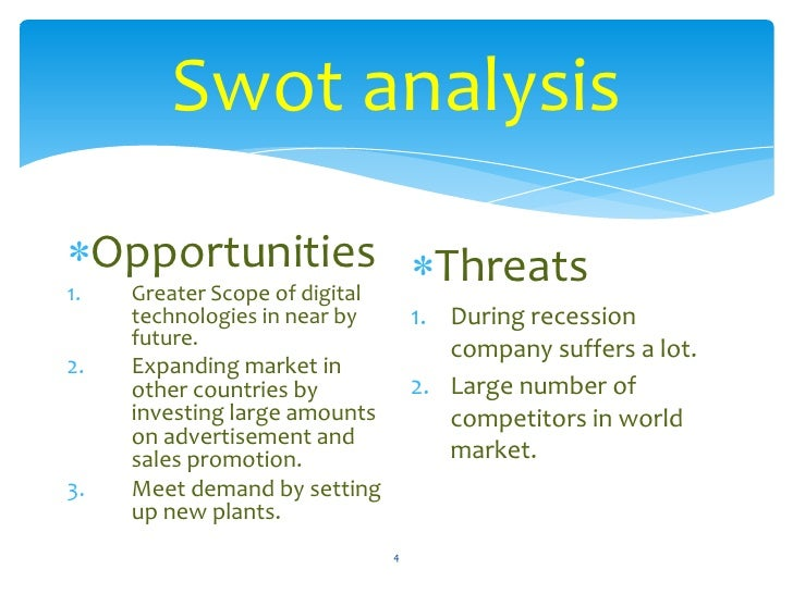 Canon (CAJ) SWOT Analysis