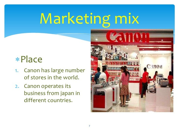 canon camera marketing mix Please find below the contact details of the canon partner responsible for the country you are looking for no consumer camera connect camera connect shoot, share and sync with your smartphone canon contacts.