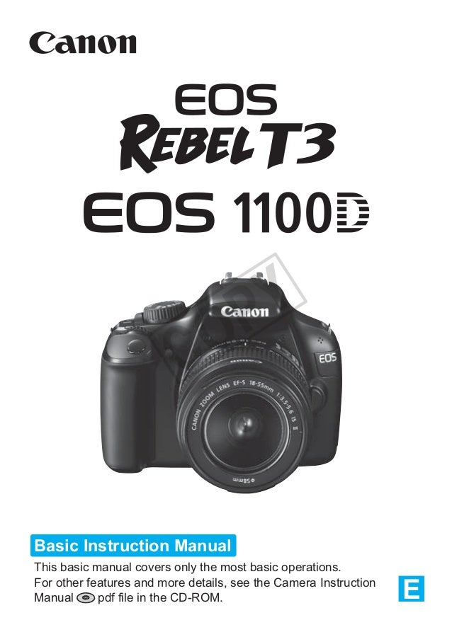 canon eos 1100d manual rh slideshare net canon eos rebel t3 1100d instruction manual canon eos 1100d instruction manual