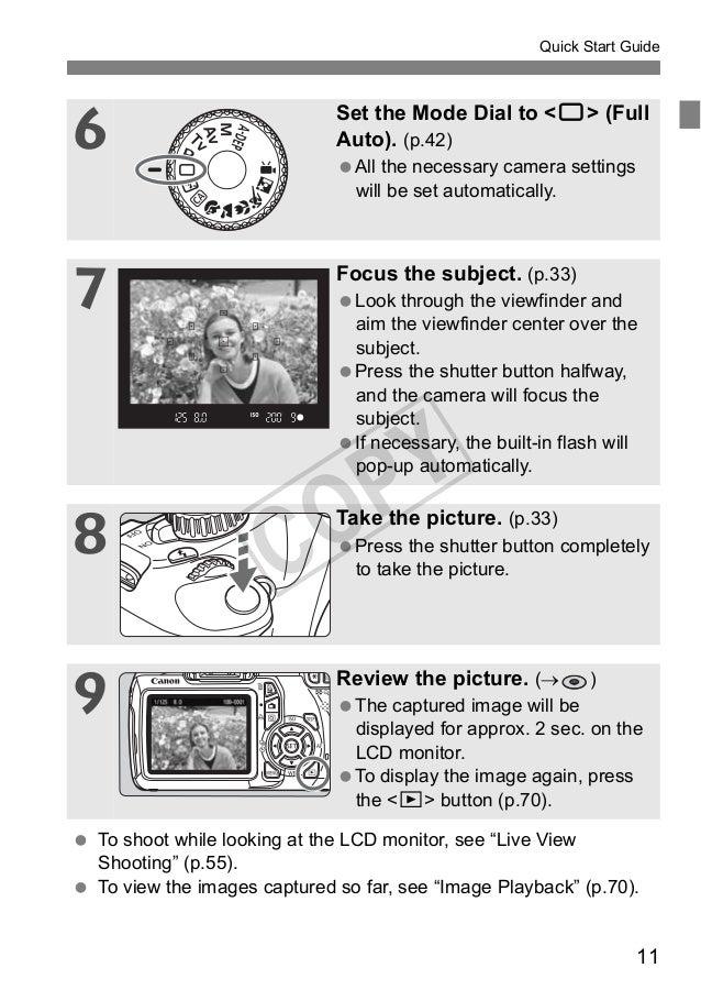 Canon Eos 1100d Technical Manual