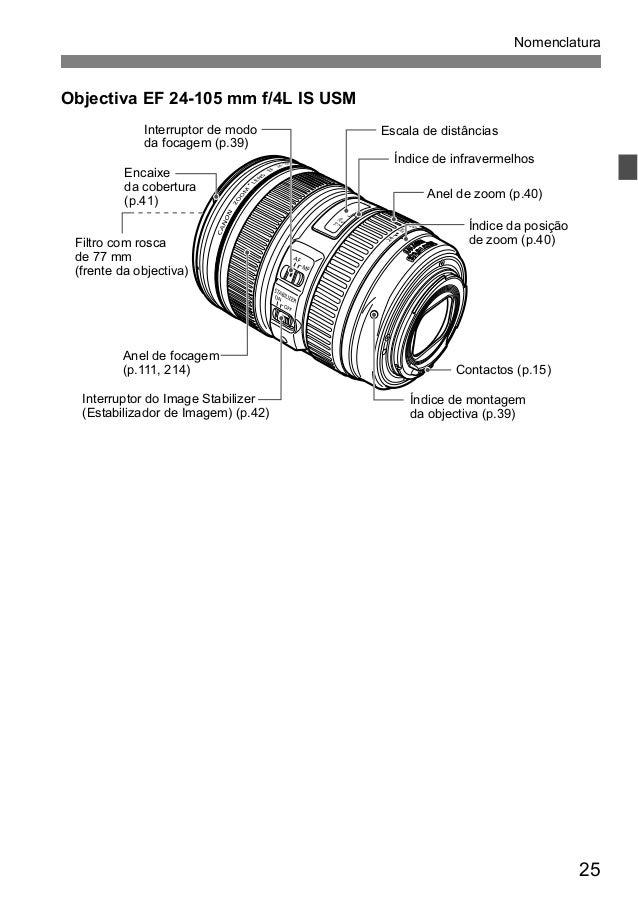Manual Câmera Canon EOS 5D Mark III