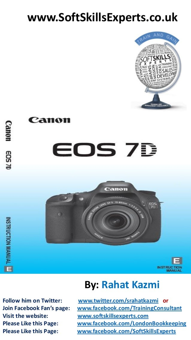 canon eos 7d user manual