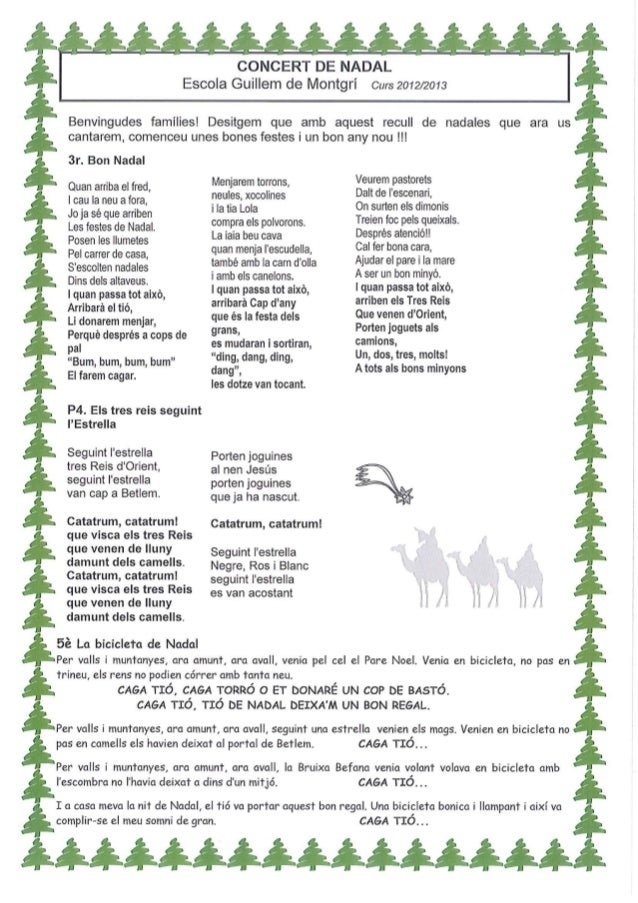 Cançoner de nadal 2012 13