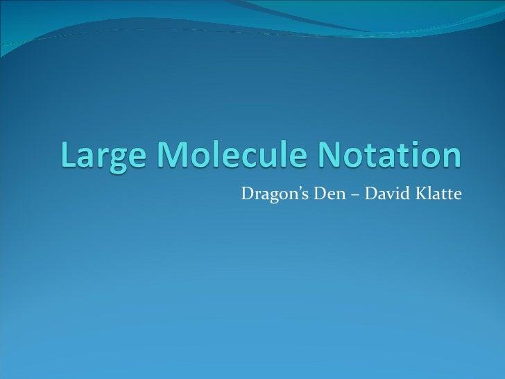 Dragon's Den – David Klatte
