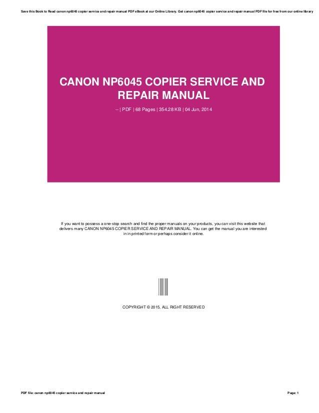canon np6045 service manual open source user manual u2022 rh userguidetool today Canon Printer Manuals PDF canon pc940 copier user manual