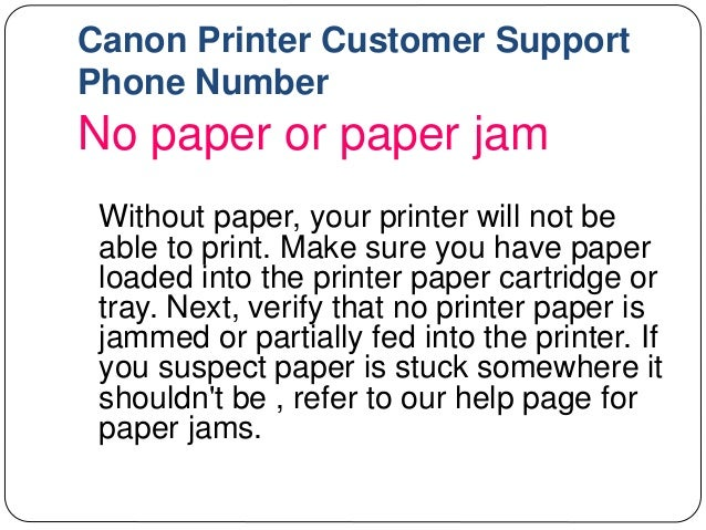 Canon printer technical support   customer support   phone