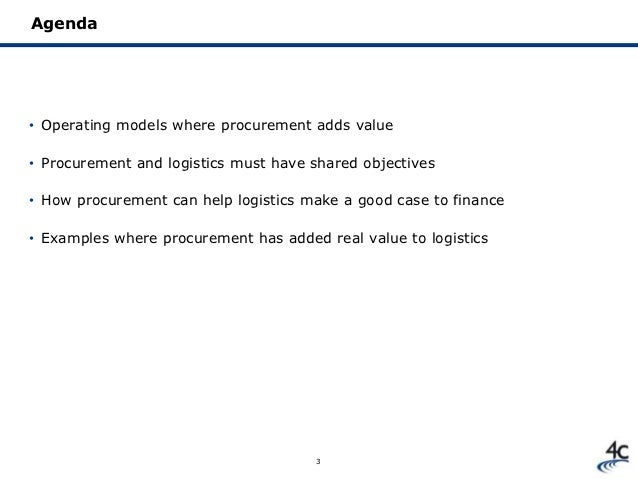 the added value of procurement Chief procurement officers must balance two equally important  cpos from  across industries strive to add value but struggle to gain the.