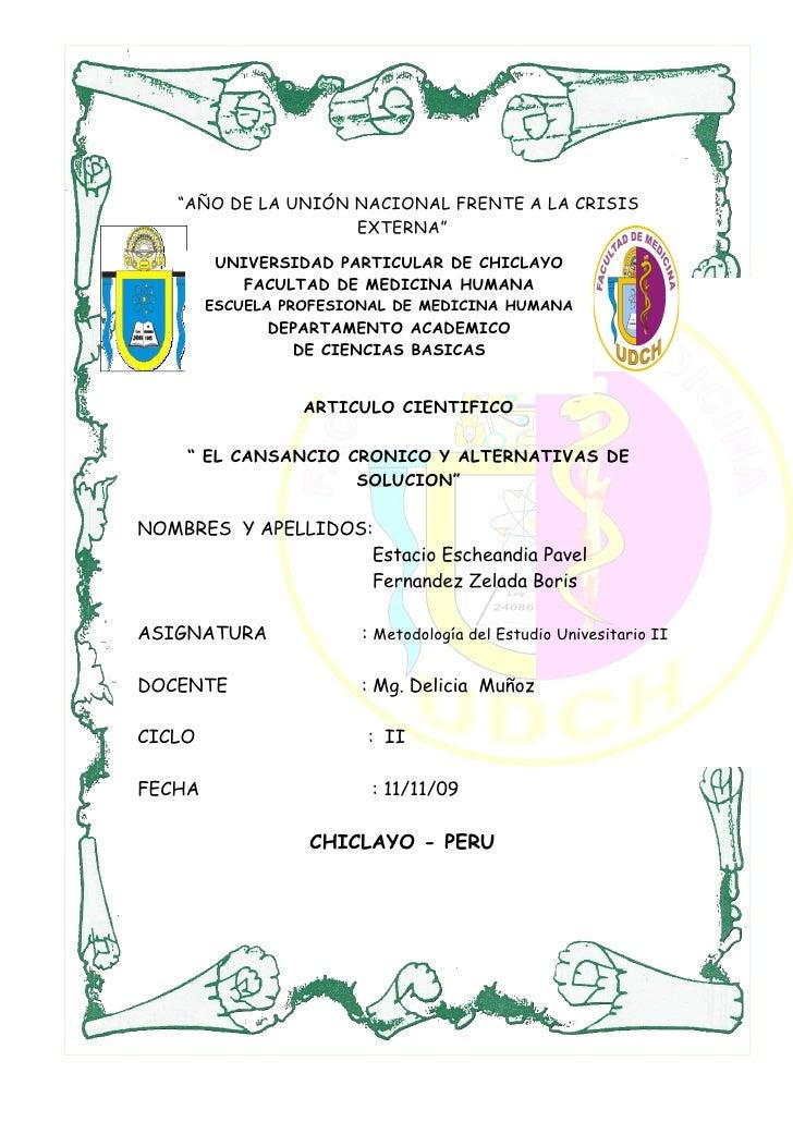 """""""AÑO DE LA UNIÓN NACIONAL FRENTE A LA CRISIS                     EXTERNA""""          UNIVERSIDAD PARTICULAR DE CHICLAYO     ..."""