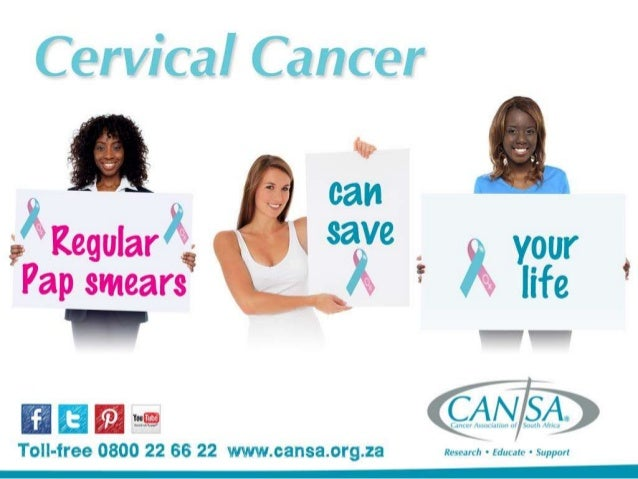 Cervical cancer is the second most common cancer among South African women