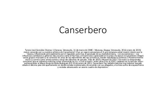 """El trágico final de Canserbero, el """"niño terrible"""" del rap"""