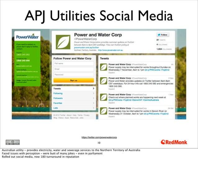 APJ Utilities Social Media                                                              https://twitter.com/powerwatercorp...