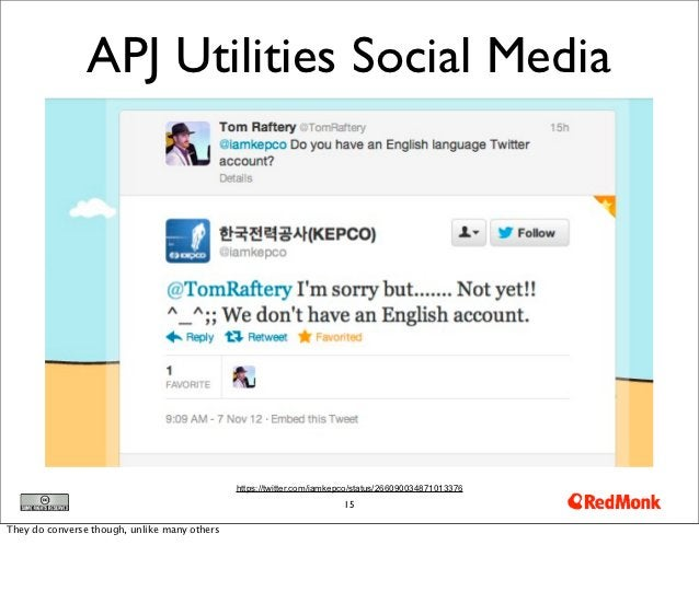 APJ Utilities Social Media                                              https://twitter.com/iamkepco/status/26609003487101...