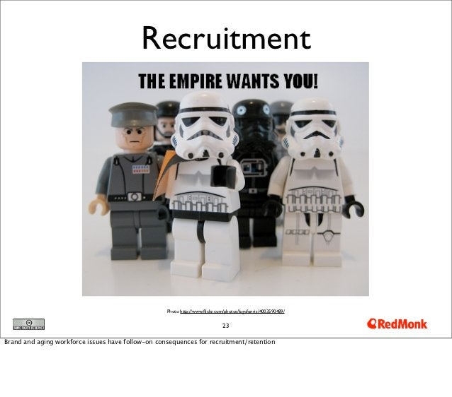 Recruitment                                                   Photo http://www.flickr.com/photos/legofenris/4003590489/    ...