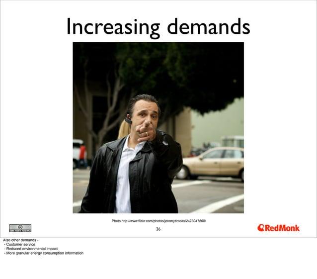 Increasing demands                                                 Photo http://www.flickr.com/photos/jeremybrooks/2473047...