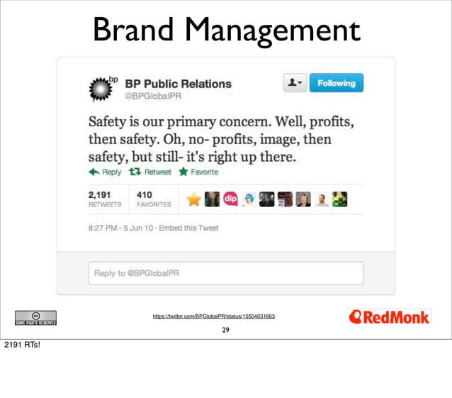 Brand Management               https://twitter.com/BPGlobalPR/status/15504031663                                          ...