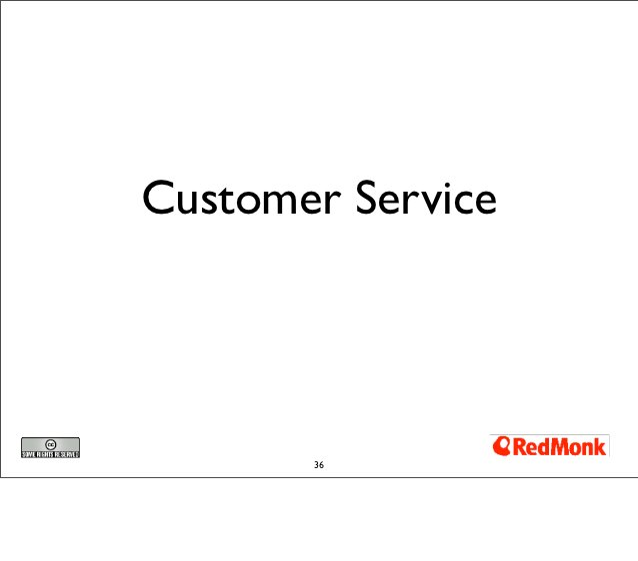 Customer Service       36