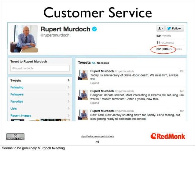 Customer Service                                         https://twitter.com/rupertmurdoch                                ...