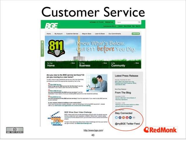 Customer Service      http://www.bge.com/             43