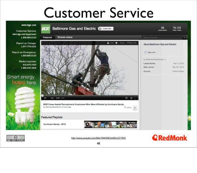 Customer Service    http://www.youtube.com/BALTIMOREGASELECTRIC                        48