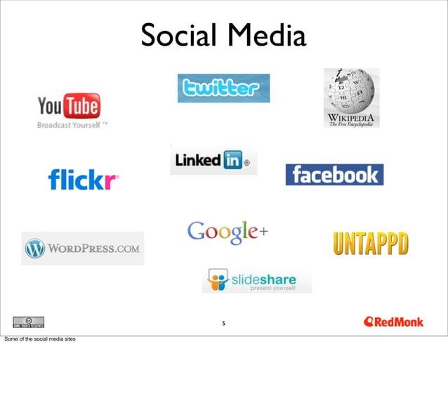 Social Media                                      5Some of the social media sites