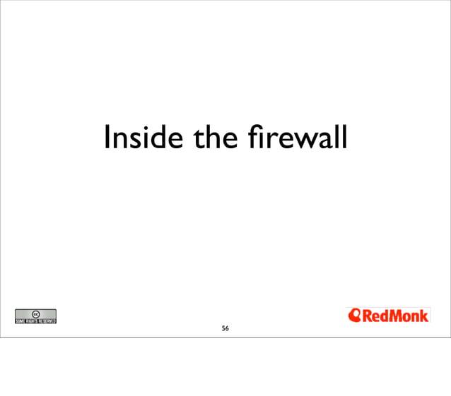 Inside the firewall        56