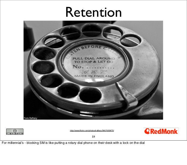 Retention                                                 http://www.flickr.com/photos/traftery/5467650475/               ...