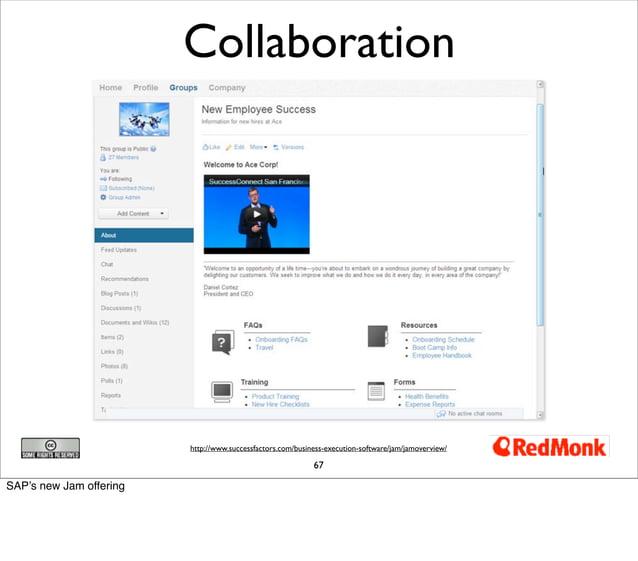 Collaboration                         http://www.successfactors.com/business-execution-software/jam/jamoverview/          ...