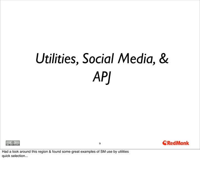 Utilities, Social Media, &                                 APJ                                                            ...