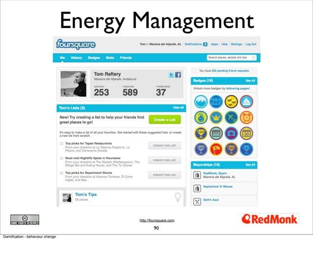 Energy Management                                         http://foursquare.com                                           ...